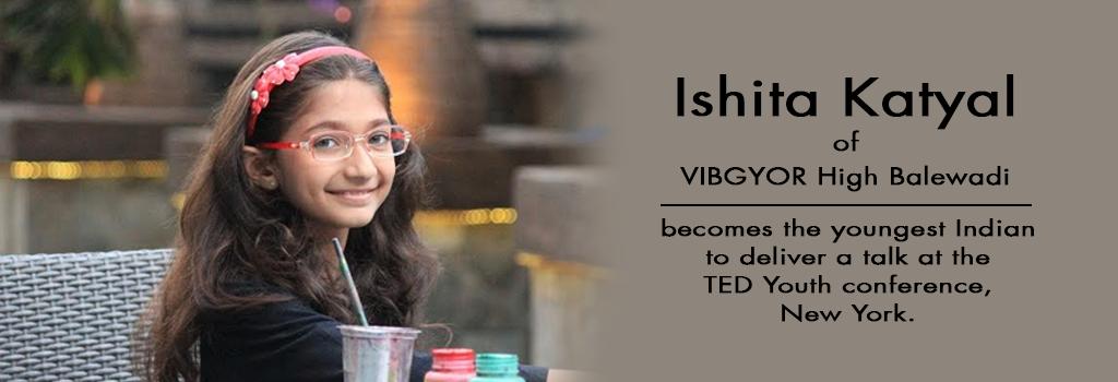 Ishita Khatyal of VIBGYOR High Balewadi outshines at the TED Youth conference in New York