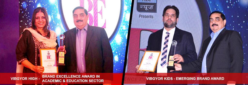 VIBGYOR wins prestigious awards in Brand Excellence