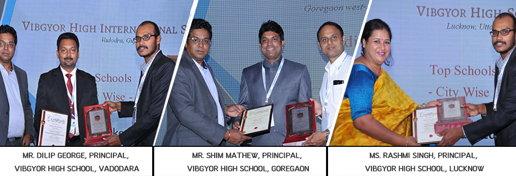 Four Schools of VIBGYOR High win prestigious awards in a survey done by Education Today