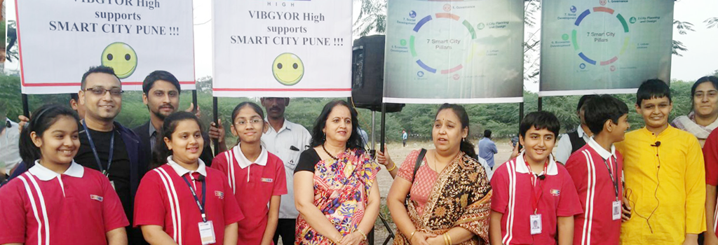 VIBGYOR High, NIBM promotes Smart City in Pune