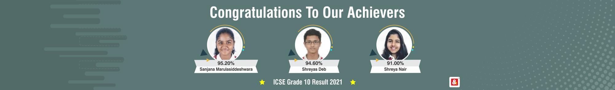 VIBGYOR High School in Bengaluru result
