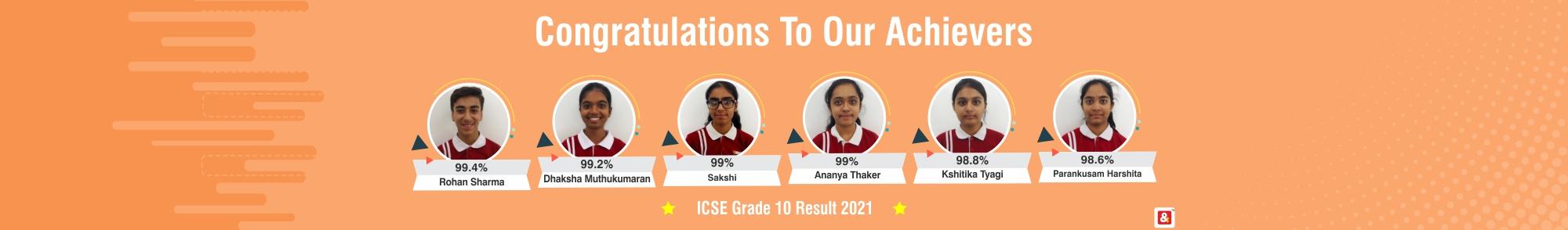 VIBGYOR High School Haralur Road result