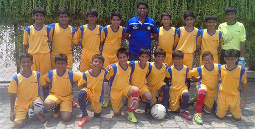 U-14 boys D.S.O Football tournament