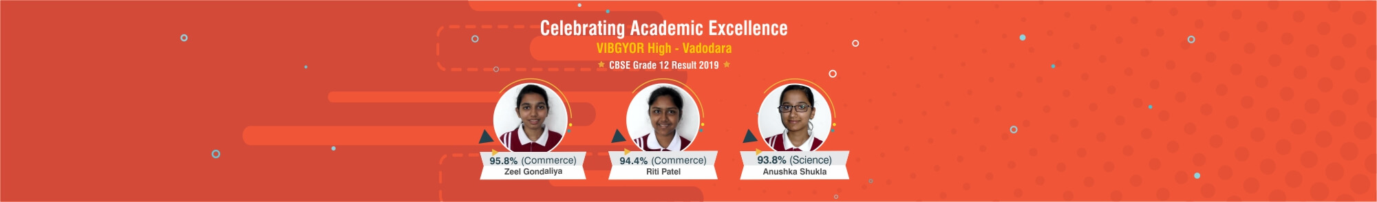 VIBGYOR High Vadodara 100% results
