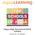digital learning award Vibgyor High School