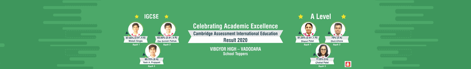 VIBGYOR High vadodara result
